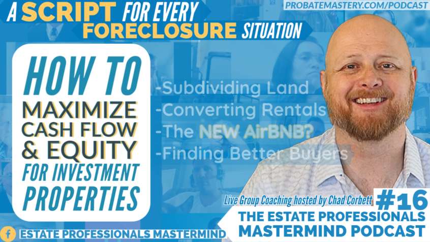 Preview for Episode 16 of Estate Professionals Mastermind Podcast: Group Coaching